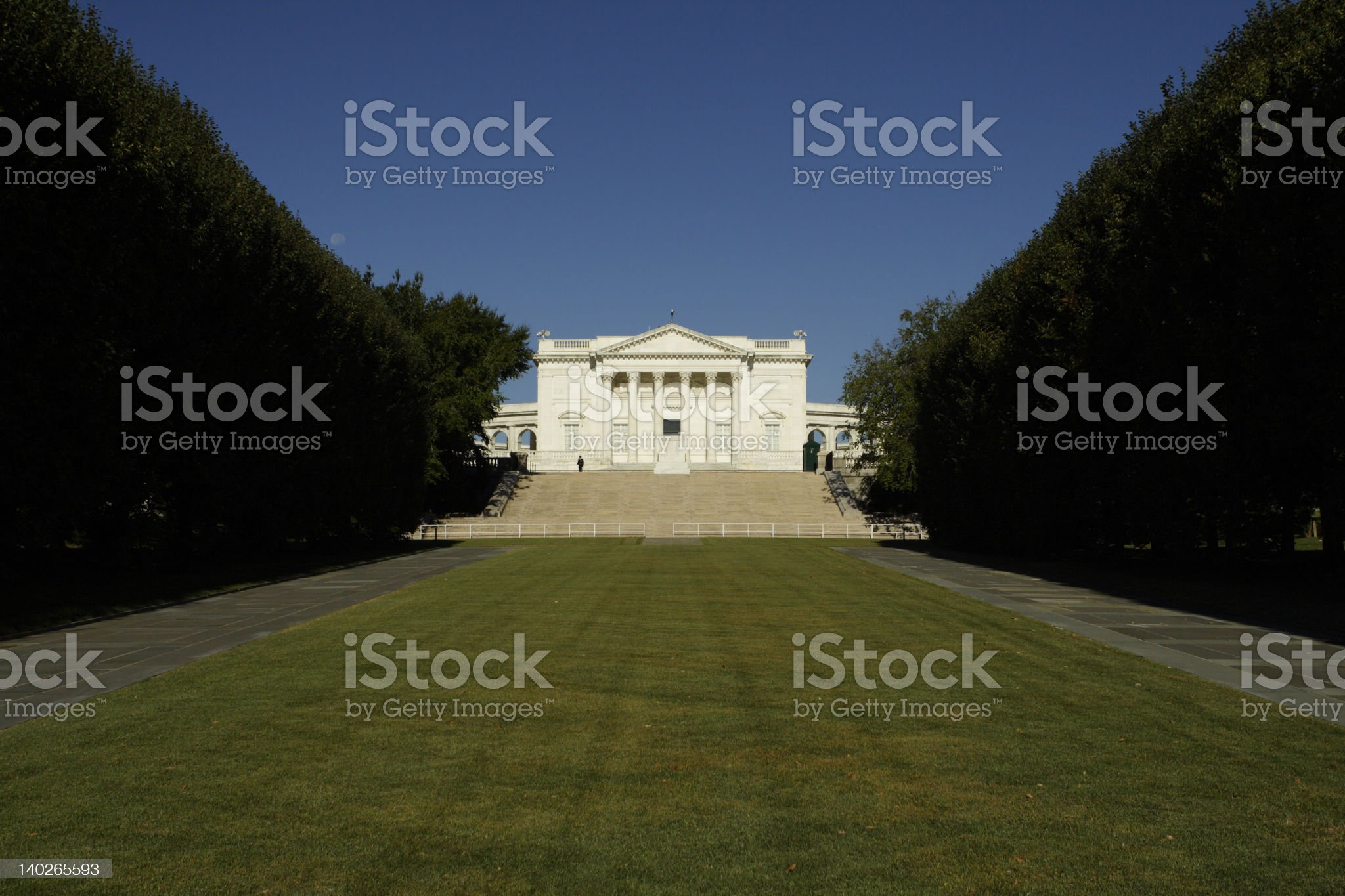 Tomb from below royalty-free stock photo