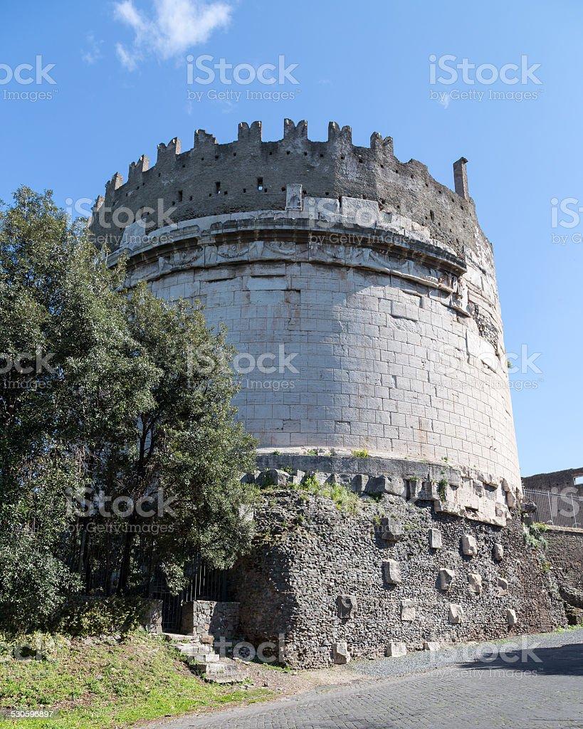 Tomb of Ceacilia Metella stock photo