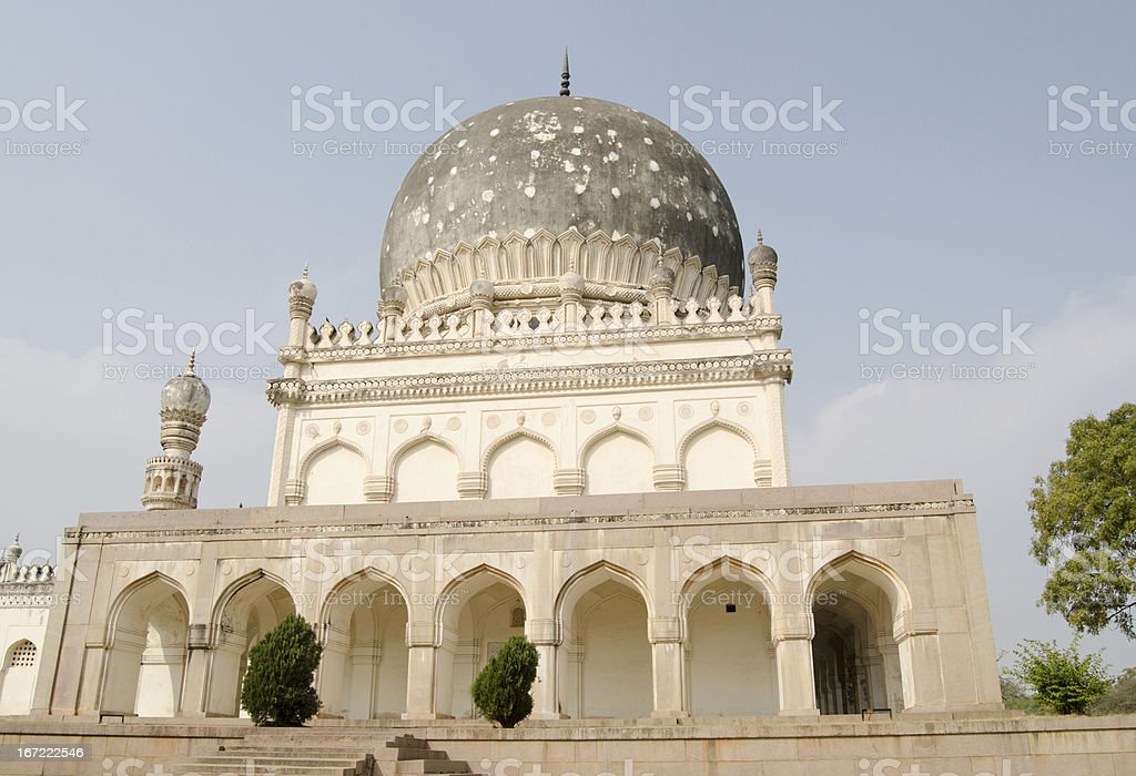 Tomb of Hayat Bakshi Begum royalty-free stock photo