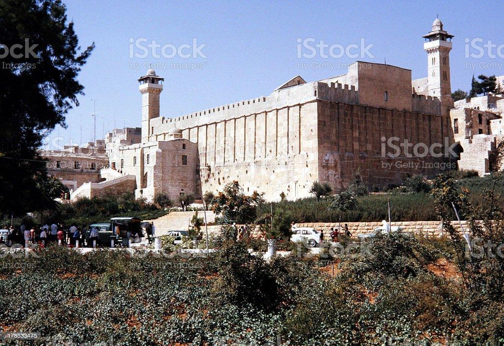 Tomb of the Patriarchs stock photo