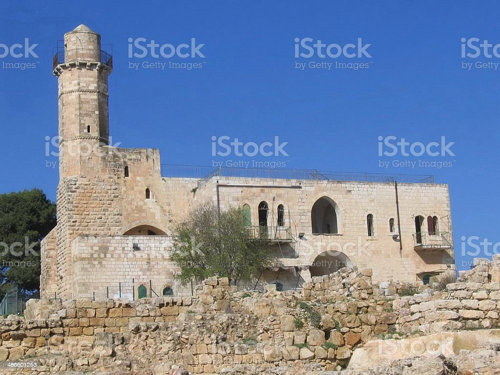 Tomb of the Prophet Samuel stock photo