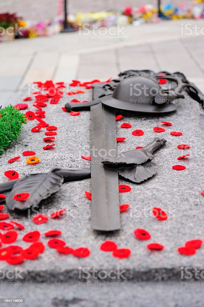 Tomb of the Unknown Soldier- Ottawa stock photo