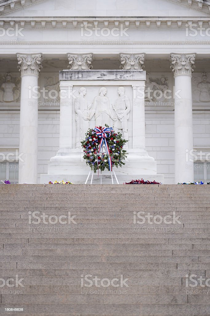 Tomb of the Unknowns at Arlington National Cemetery stock photo