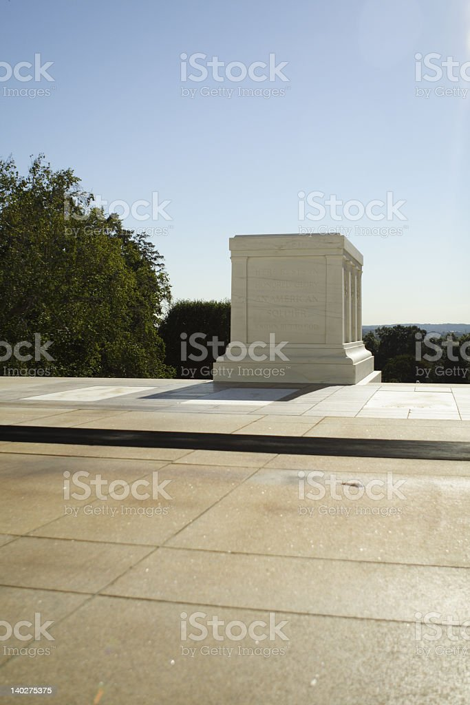 Tomb of the Unknowns royalty-free stock photo