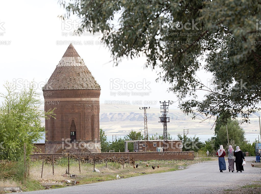 Tomb of Usta Sakirt, Bitlis royalty-free stock photo