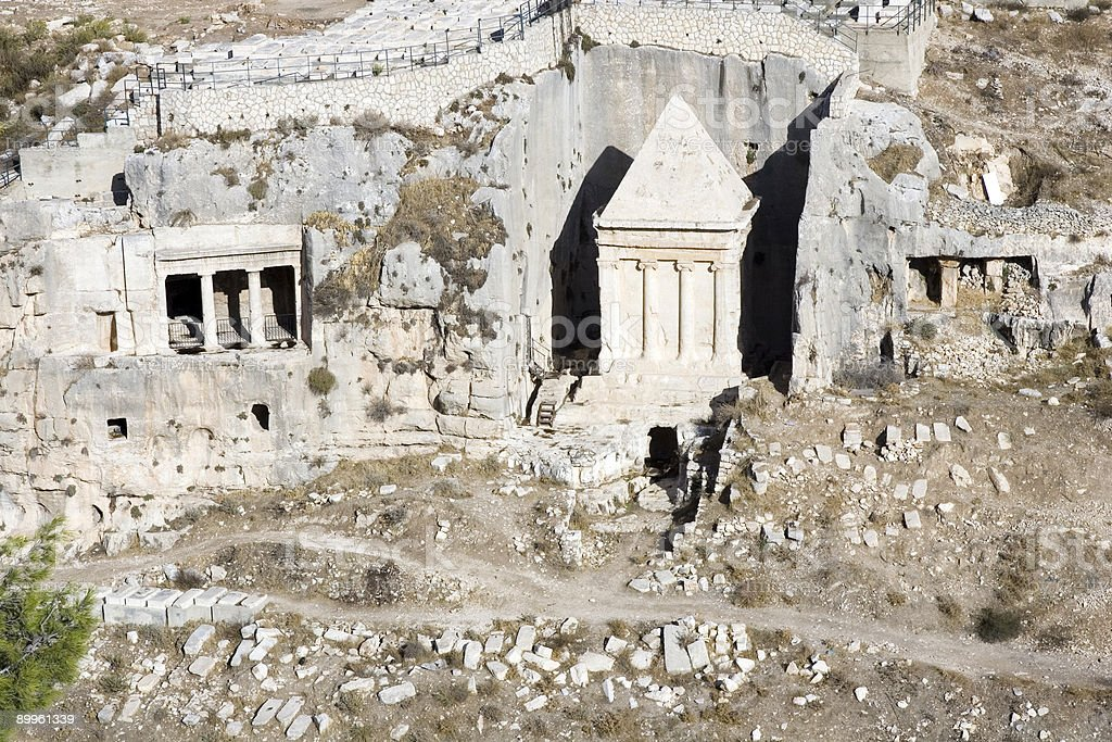 Tomb of Zechariah stock photo