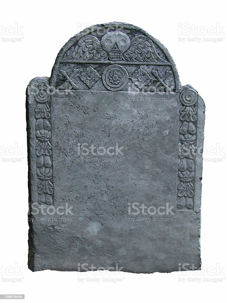 Tomb Stone royalty-free stock photo