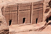 tombs at petra city