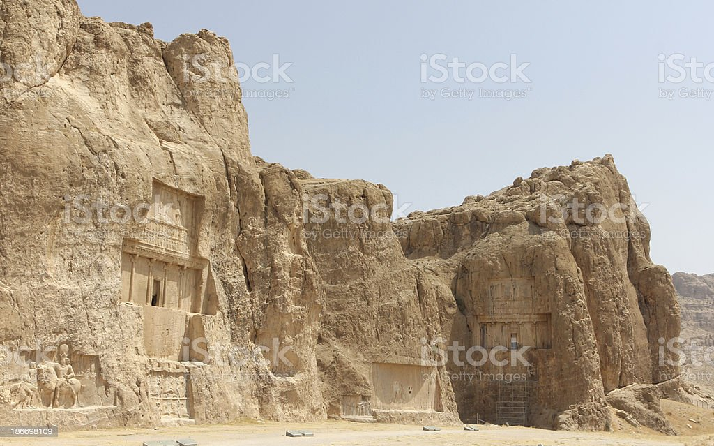 Tombs of the Kings stock photo