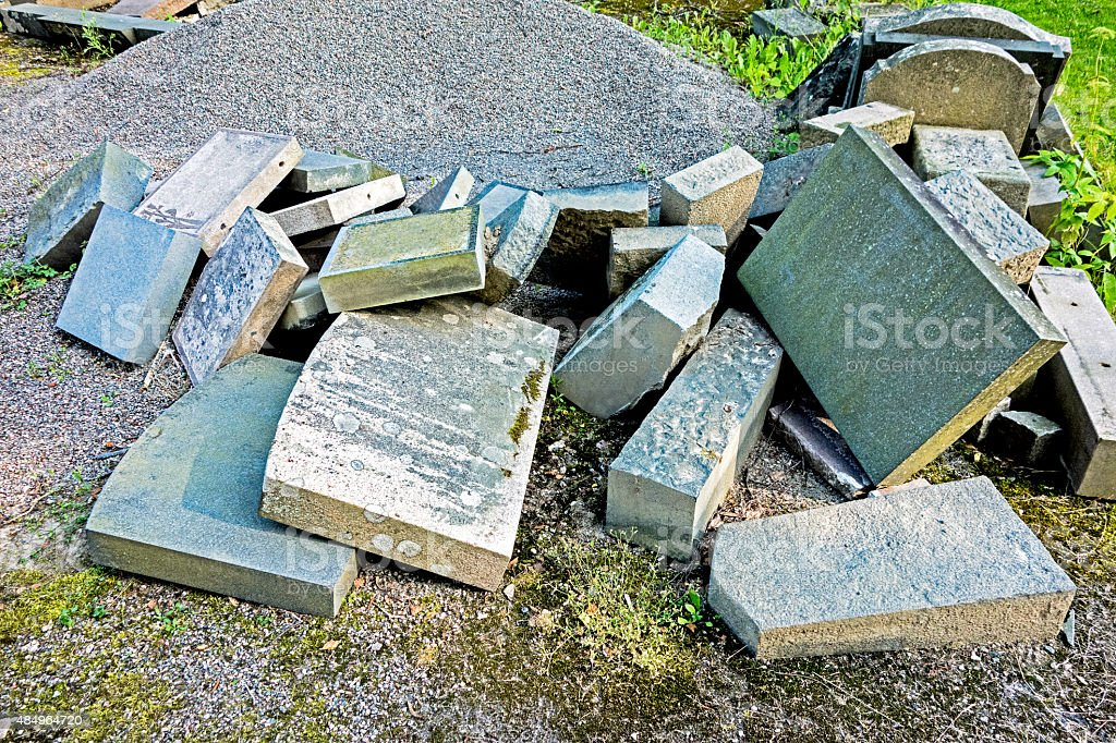 Tombstone graveyard stock photo