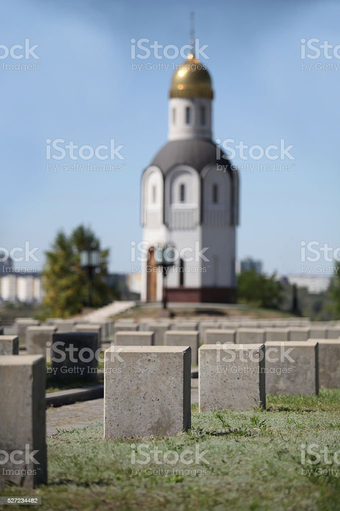 tombstones unknown soldiers at the military cemetery stock photo