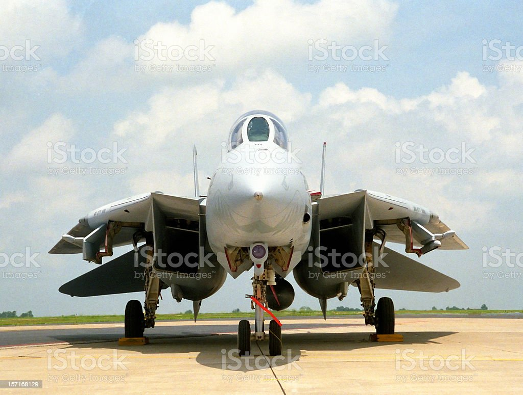 F14 Tomcat royalty-free stock photo