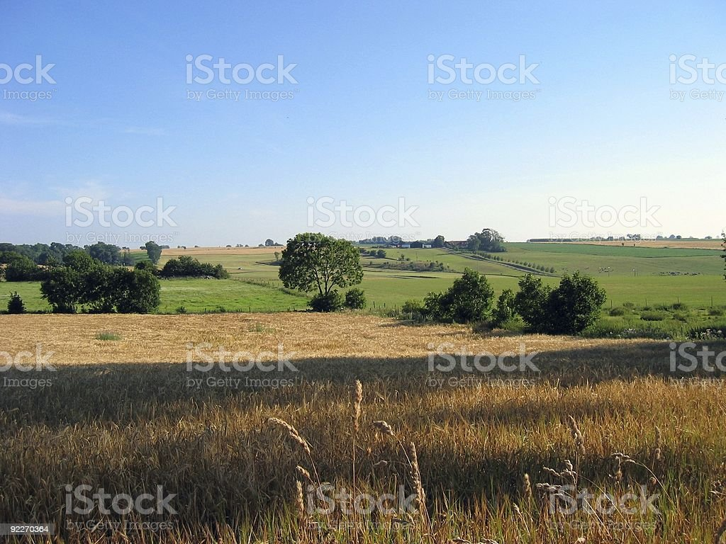 Tomelilla by summer stock photo