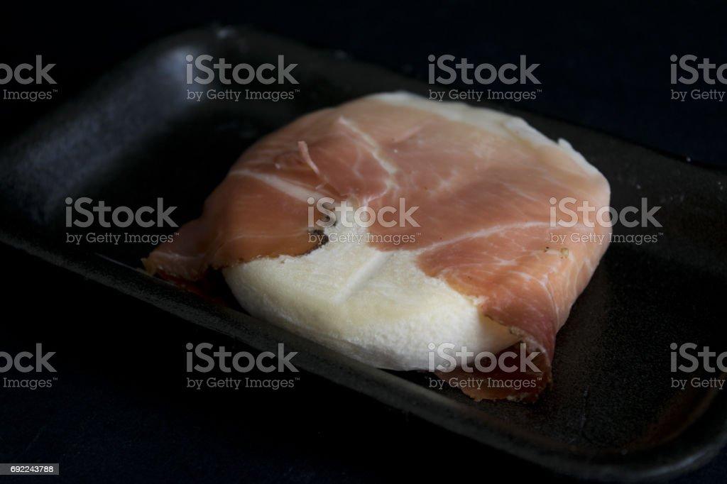 tomino cheese stock photo
