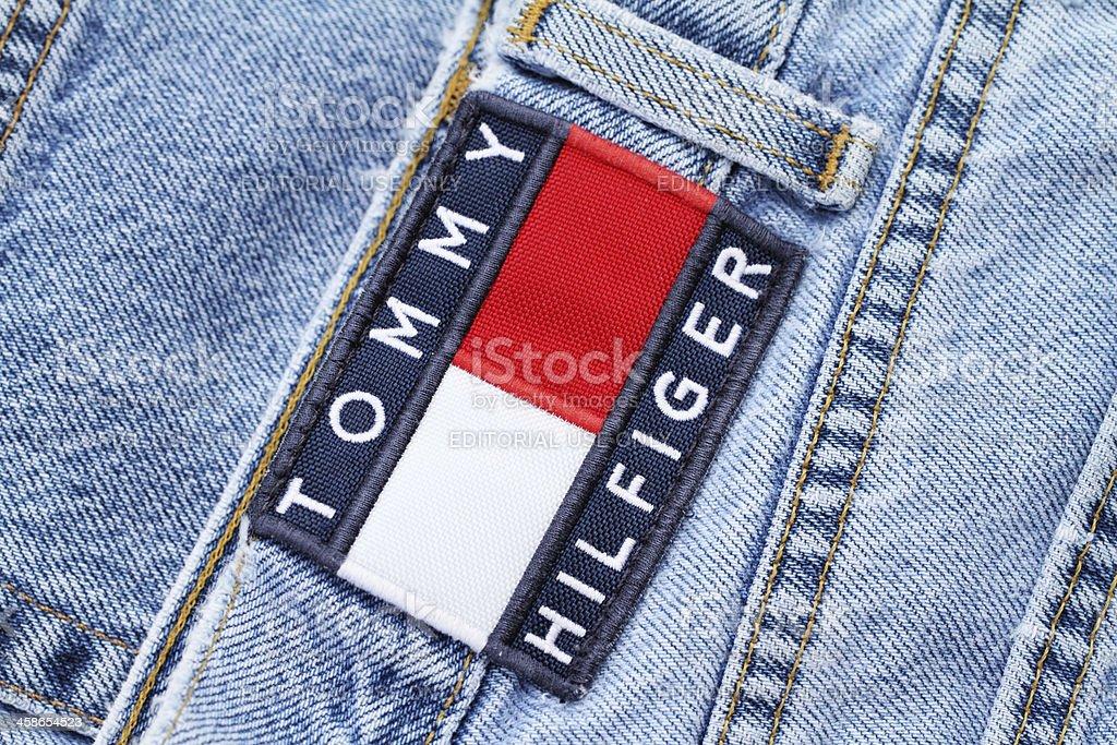 Tommy Hilfiger Jeans stock photo