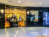 Tommy Hilfiger store at Atlanta Airport, USA