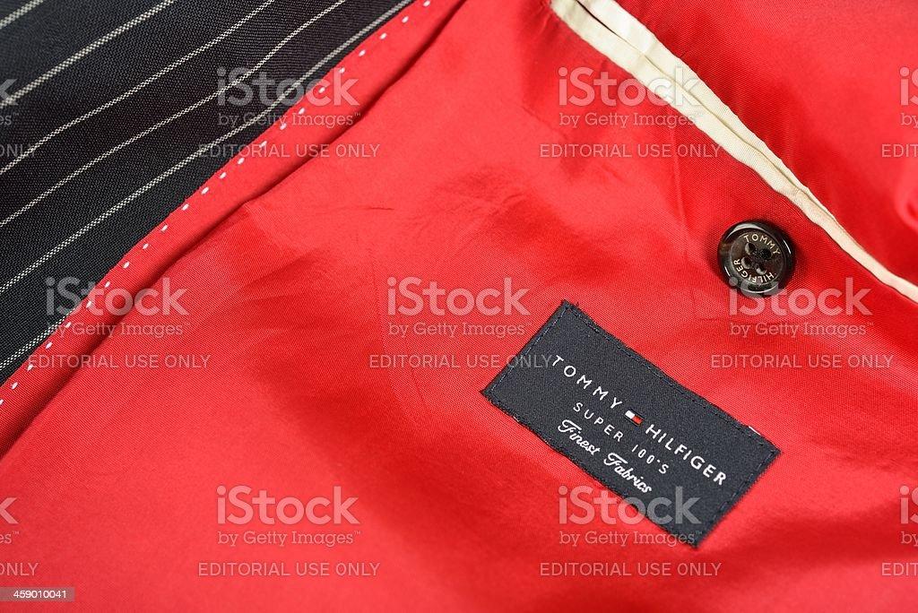 Tommy Hilfiger suit stock photo
