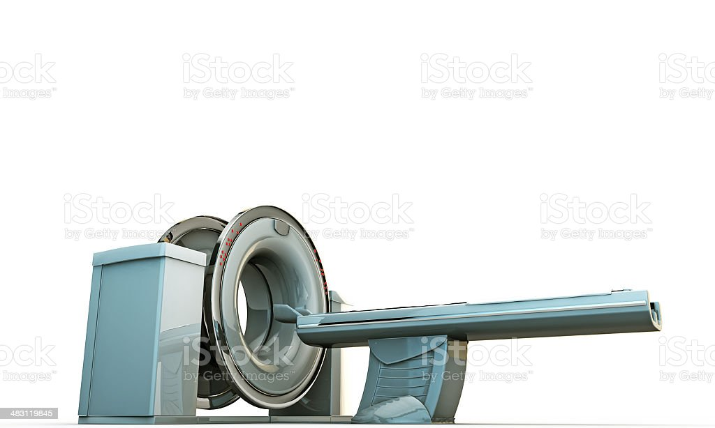 tomography machine stock photo