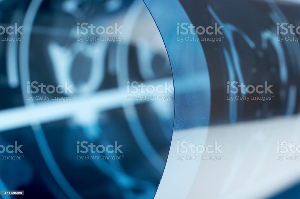 Tomography roll royalty-free stock photo
