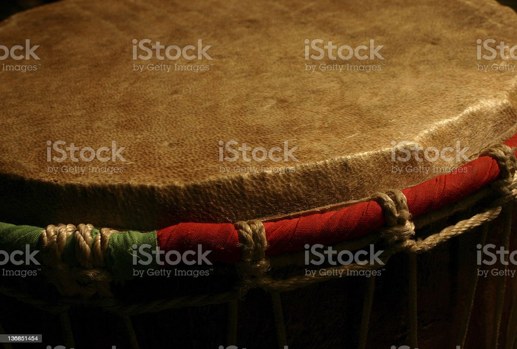 Tom-tom drum royalty-free stock photo