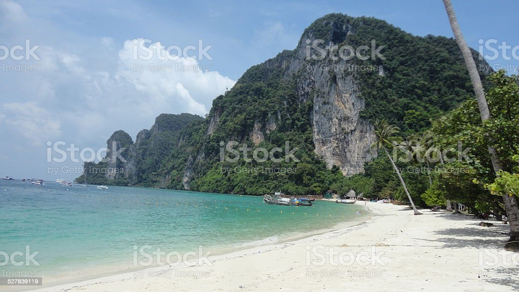 Ton Sai Bay stock photo