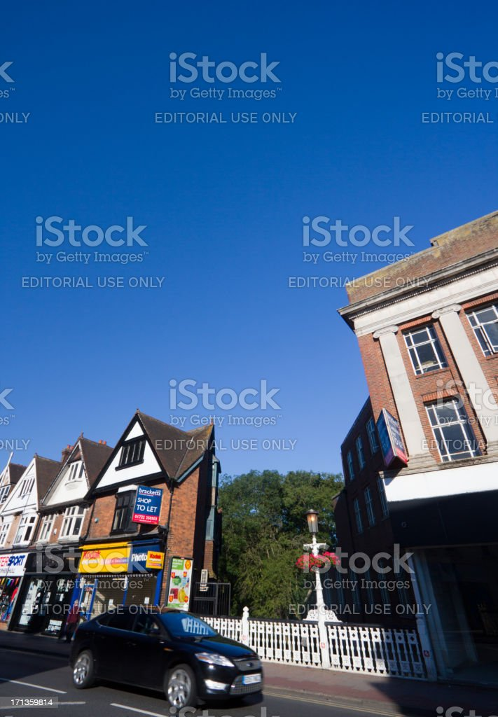 Tonbridge in Kent, England royalty-free stock photo