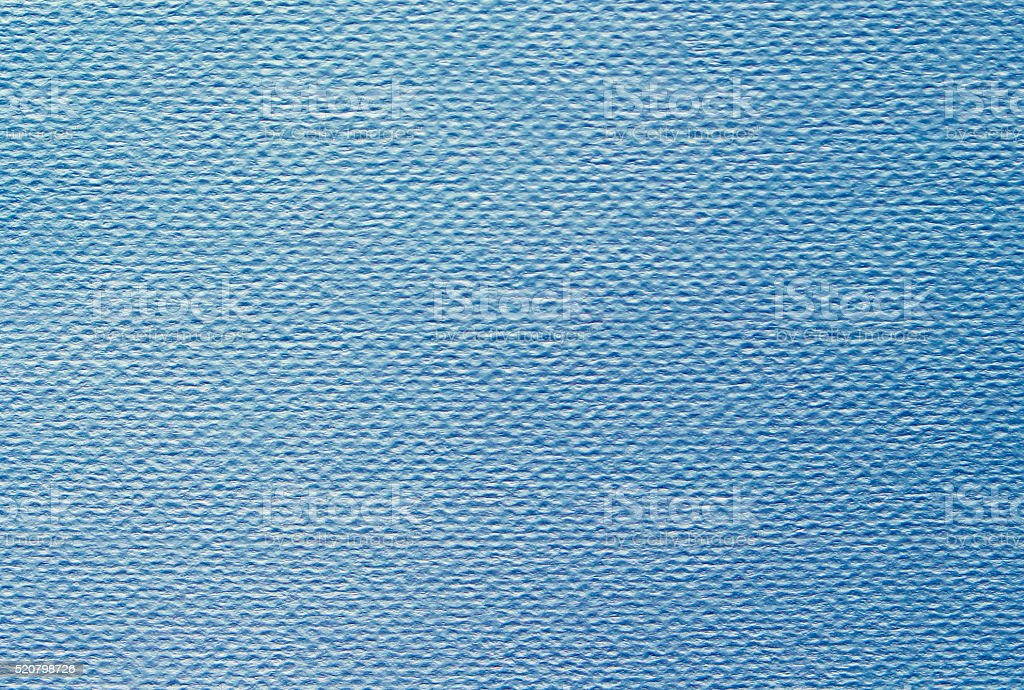 Toned watercolor paper, cold pressure, nautical blue texture stock photo