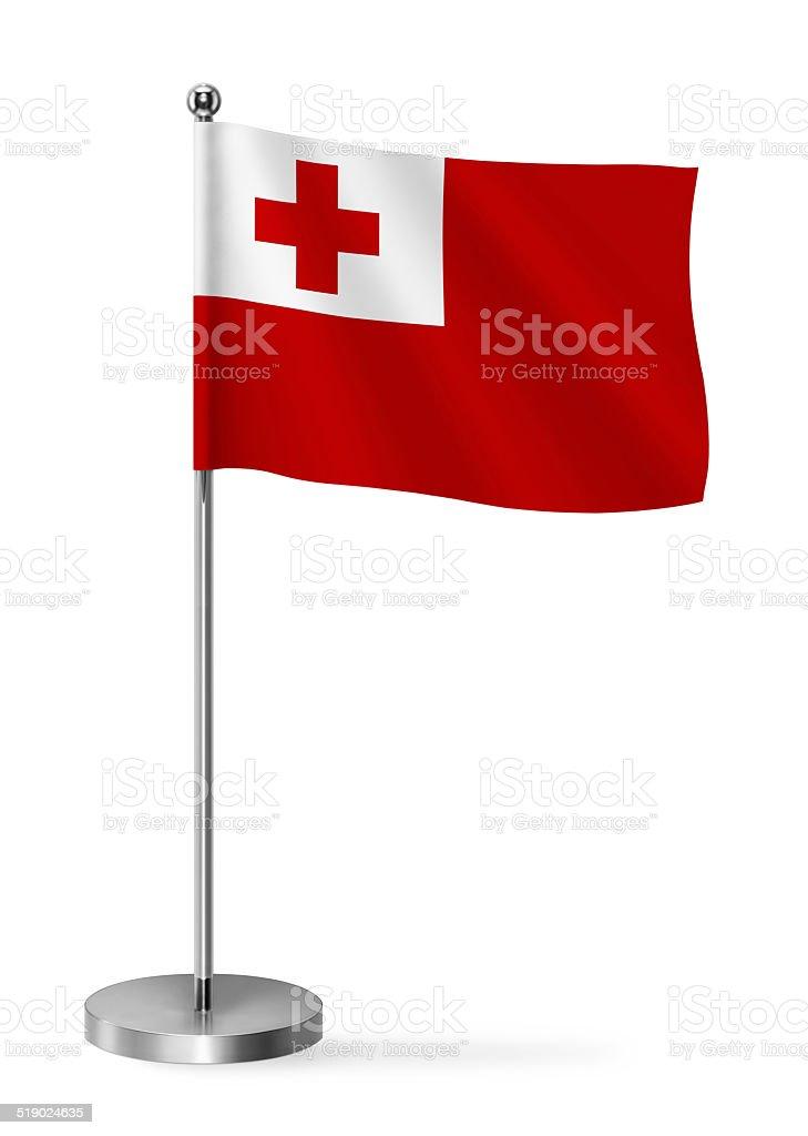 Tonga flag stock photo