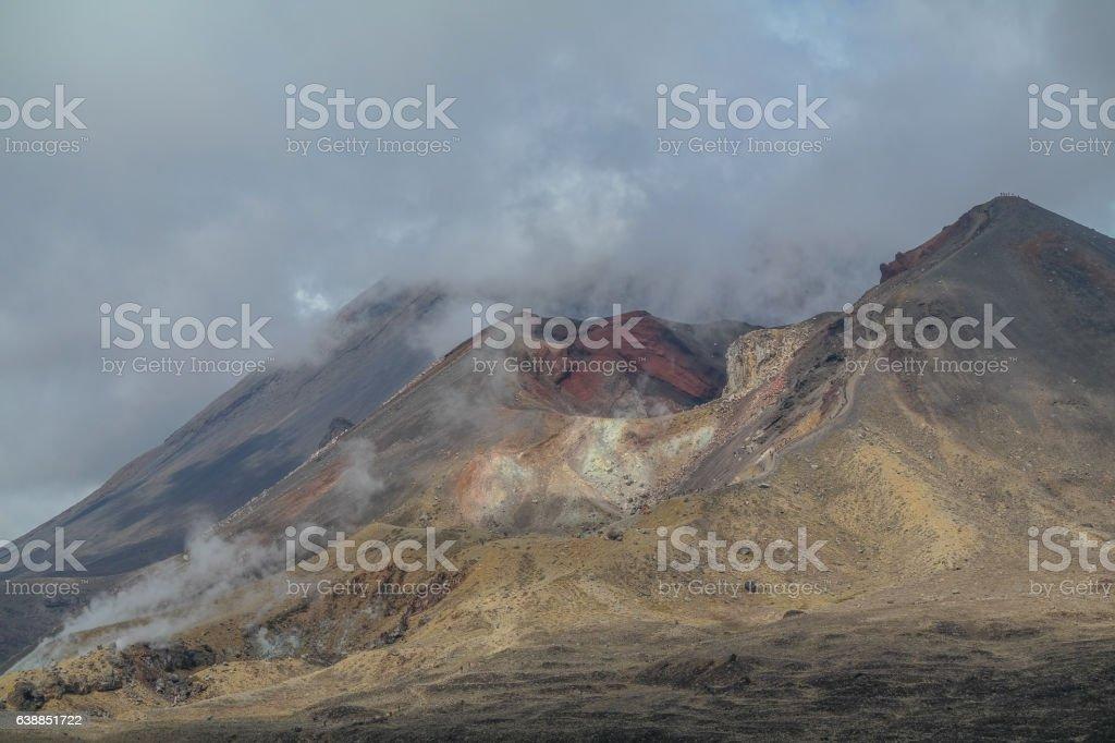 Tongariro Alpine Crossing 1 stock photo