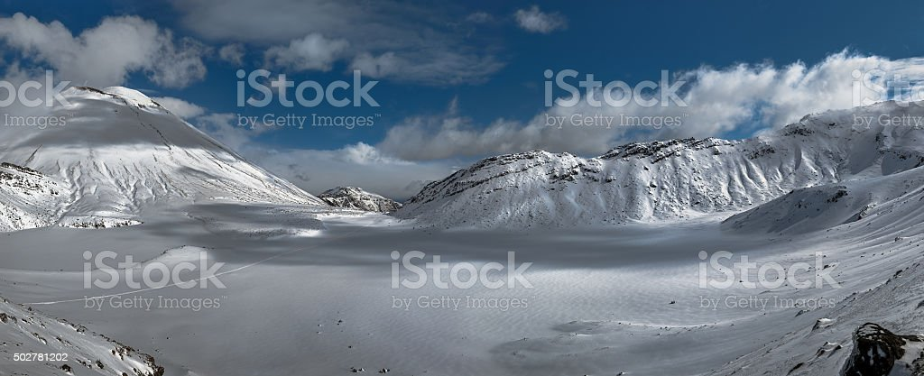 Tongariro crossing. stock photo