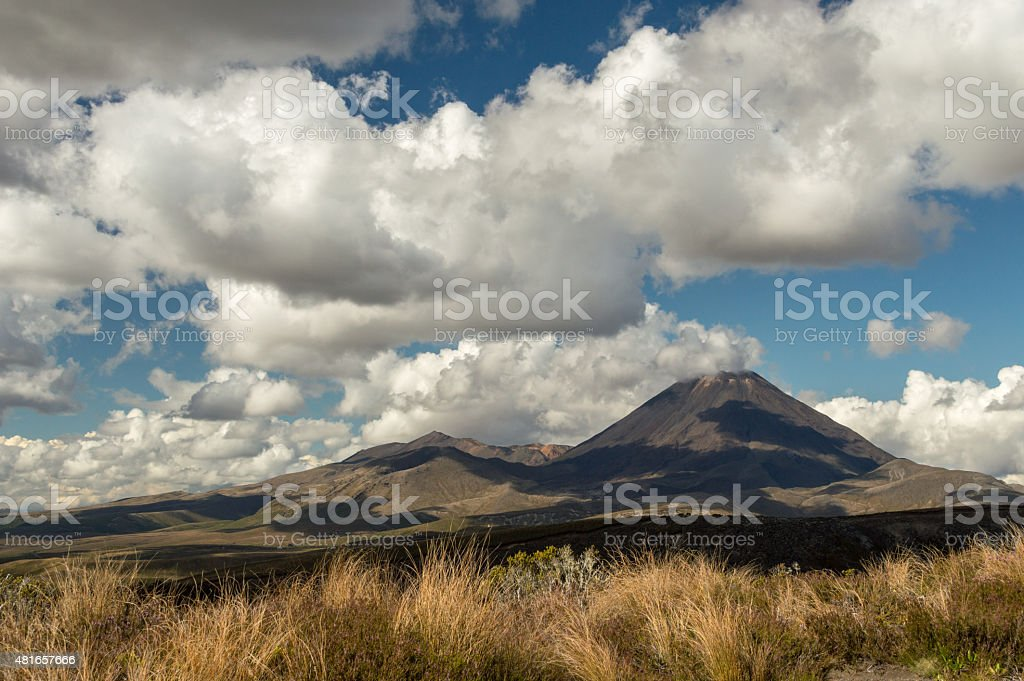 Tongariro National Park, New Zealand stock photo