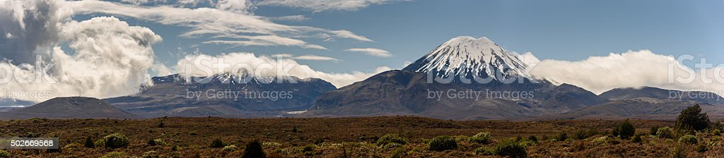 Tongariro National Park stock photo