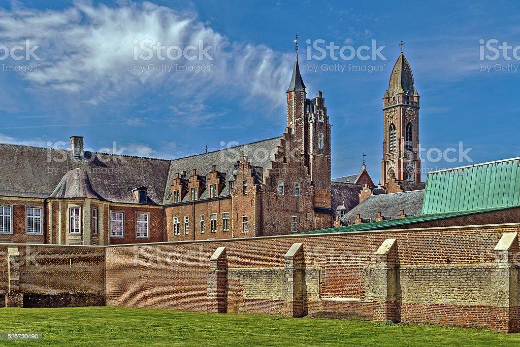 Tongerlo Abbey, Belgium stock photo