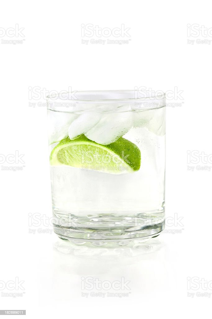Tonic and Lime stock photo