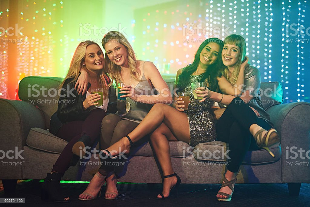 Tonight is reserved for the ladies stock photo