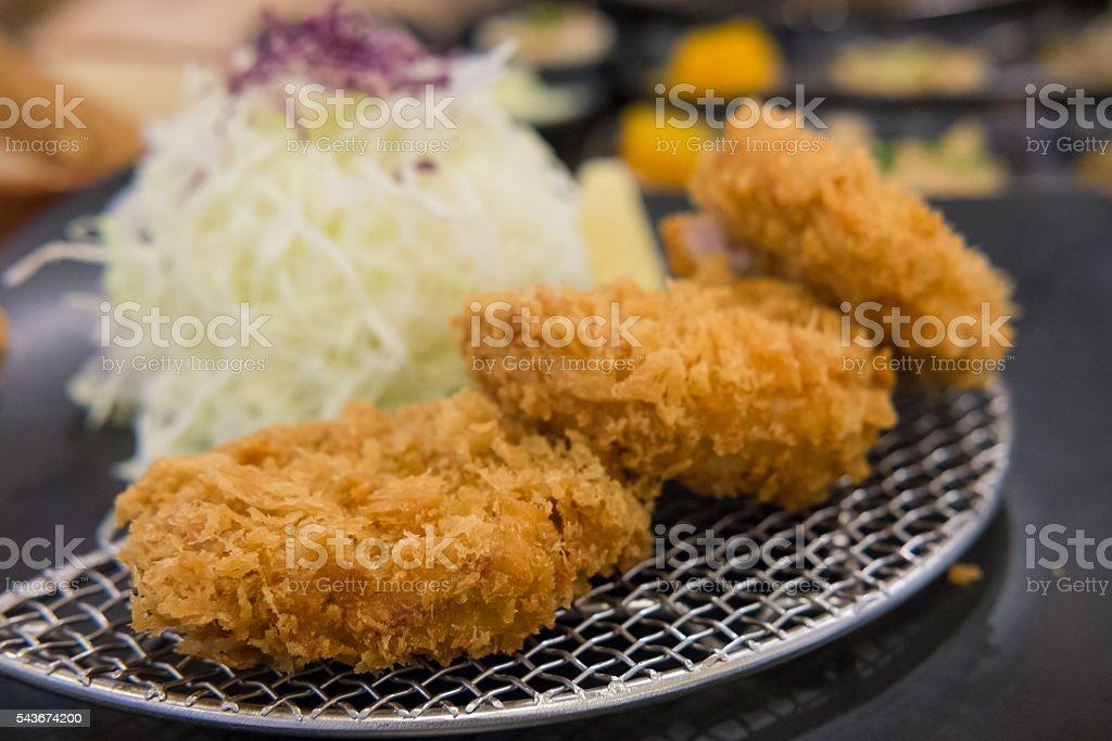 Tonkatsu, Fried Pork stock photo
