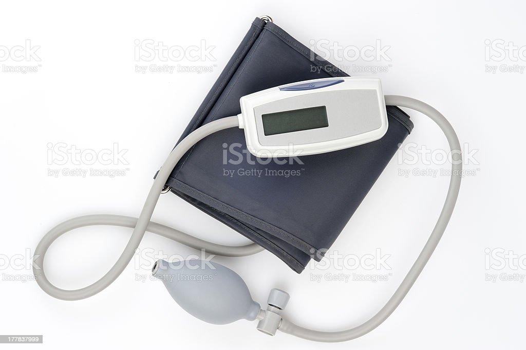 Tonometer for blood pressure measurement royalty-free stock photo