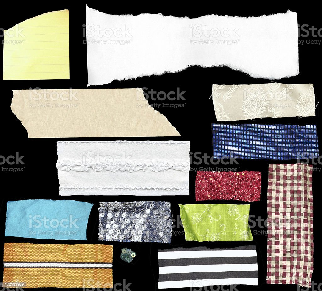 Tons of Scraps royalty-free stock photo