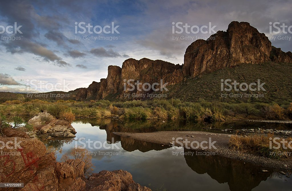 Tonto National Forest stock photo