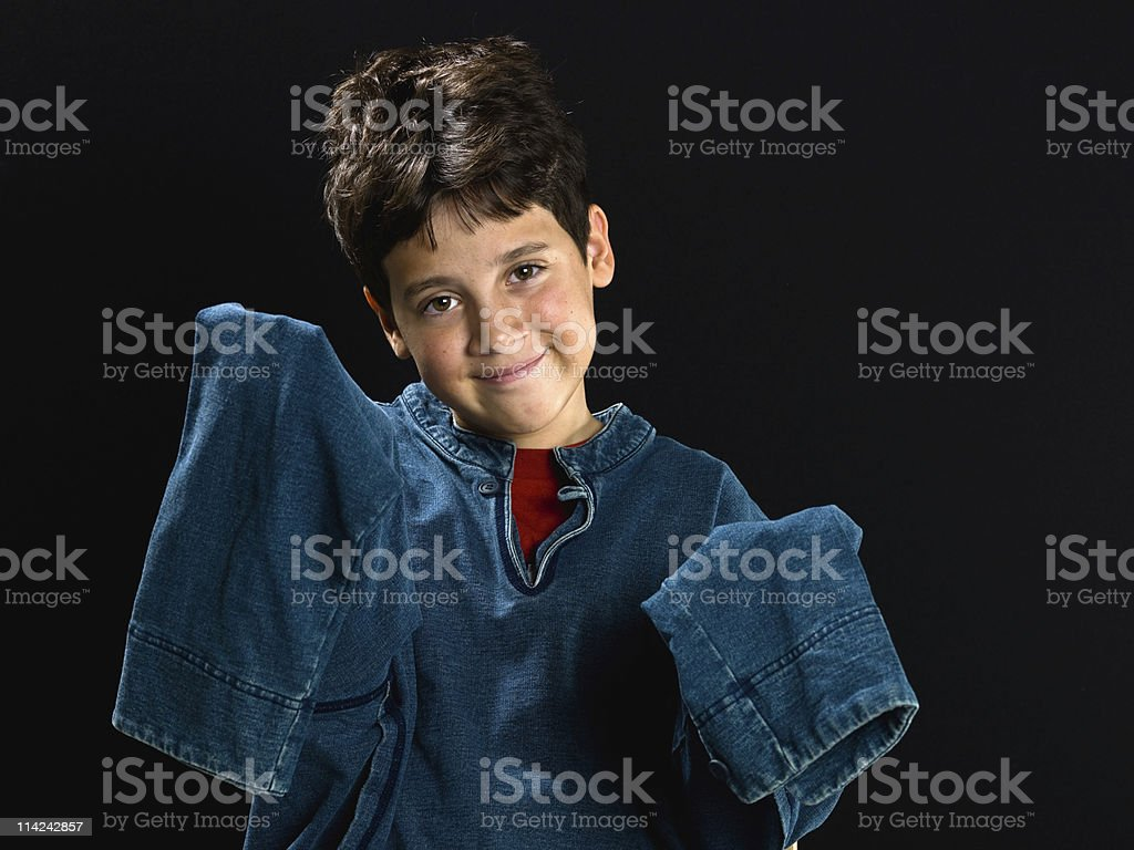 Too big for me stock photo