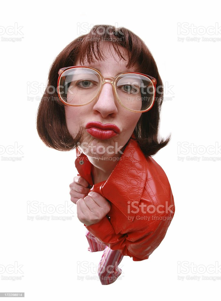 Too Cool For You royalty-free stock photo