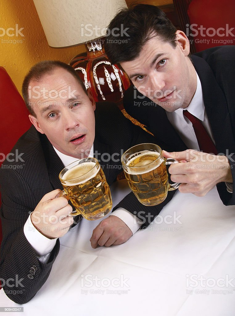 Too Much Liquid Lunch royalty-free stock photo
