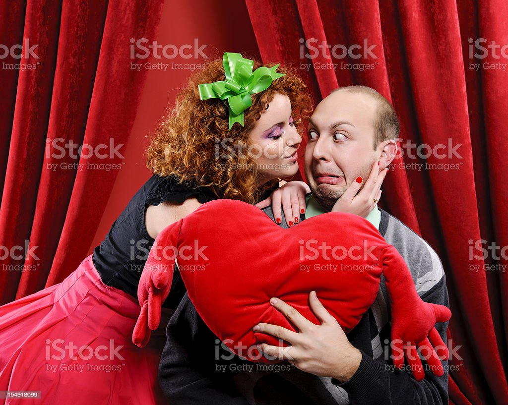 Too much love stock photo