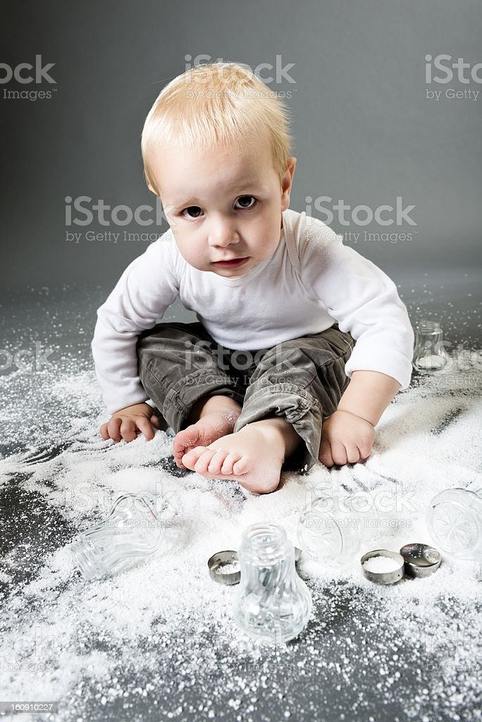Too Much Salt royalty-free stock photo
