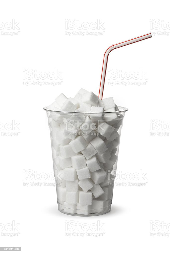 Too Much Sugar! stock photo