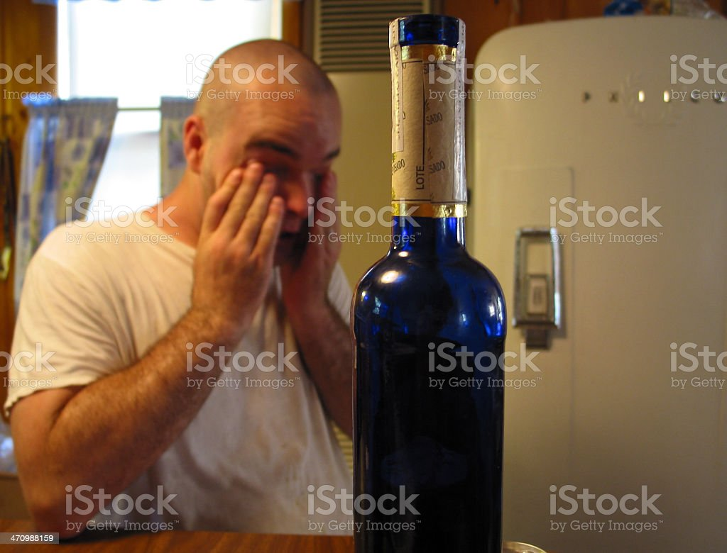 Too Much Tequila stock photo