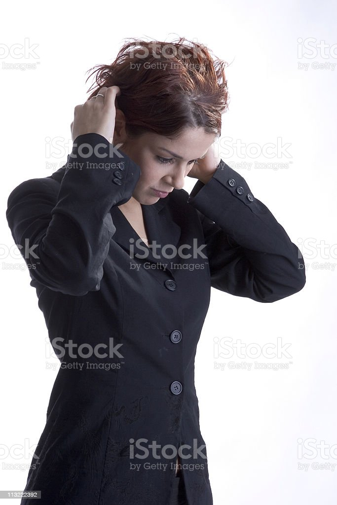 too much to handle royalty-free stock photo