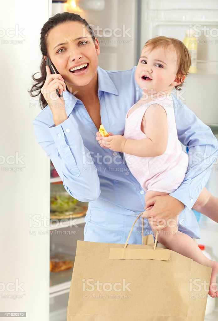 Too much to juggle sometimes! stock photo