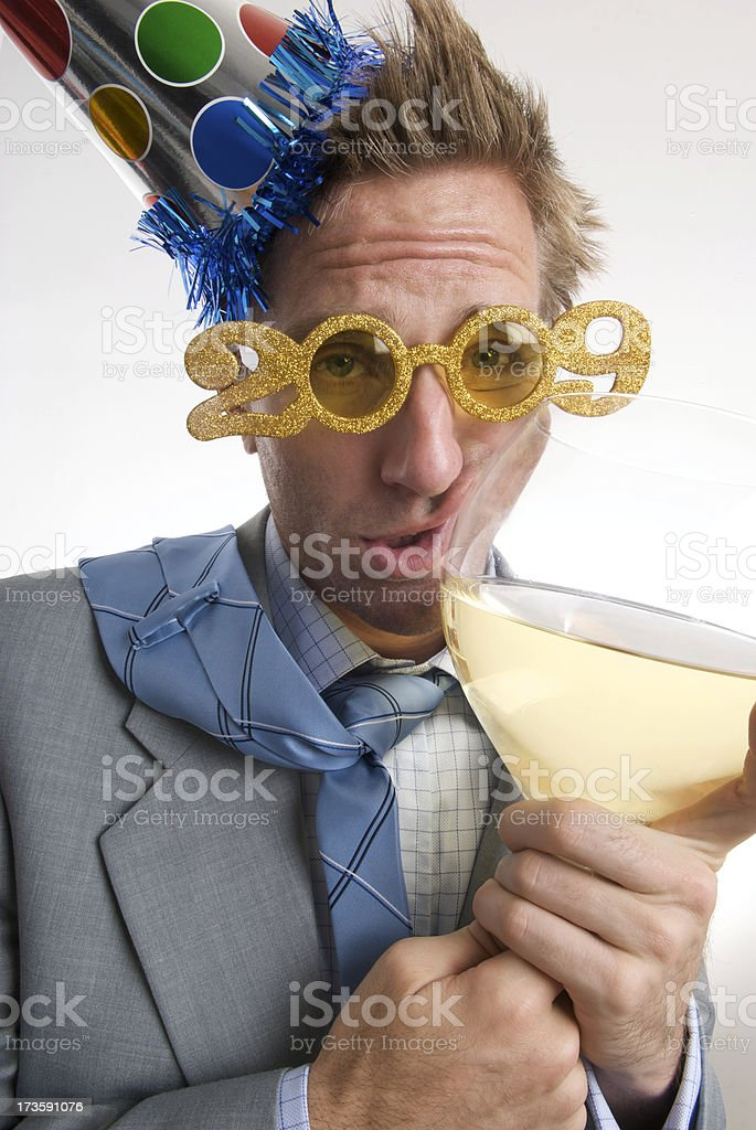 Too Much Wine in 09 stock photo