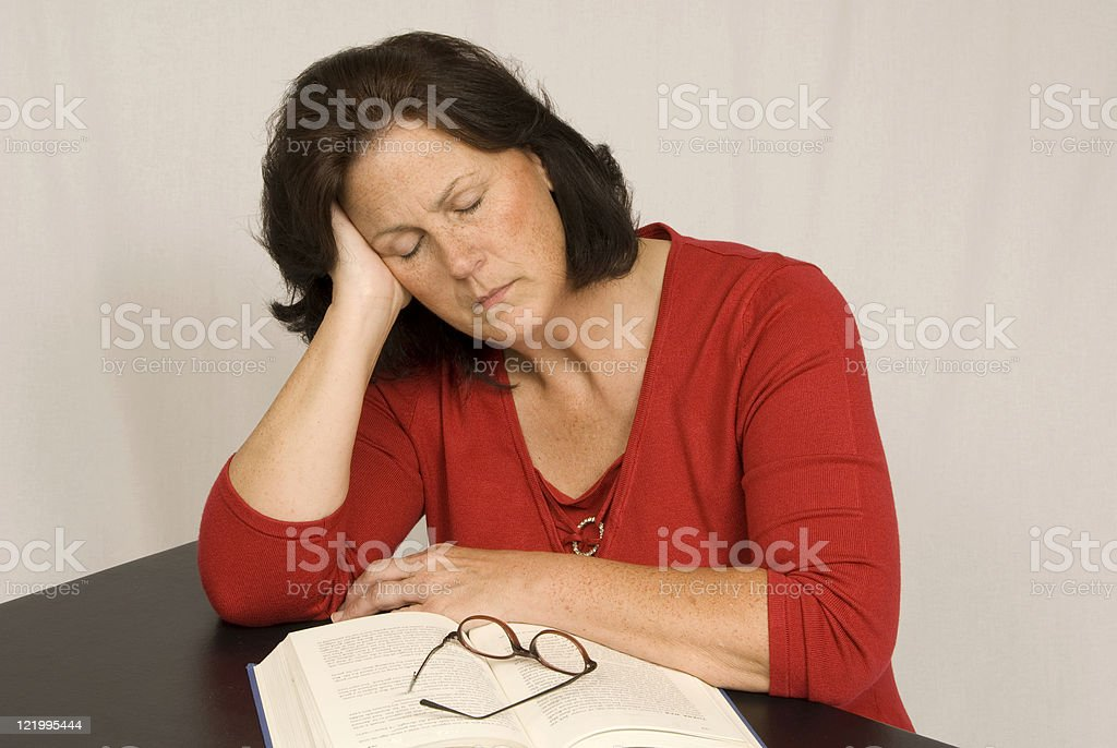 Too Tired To Continue royalty-free stock photo
